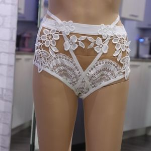 (XS)  For Love & Lemons Lucia High Waisted Panties